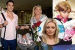 Opuštěná Lucie Borhyová (37) má strach: Boj o obě děti! Bude se soudit o Lucase i Lindu?