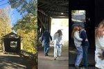 Milenci Kaiser a Vokatá na dovolené: Líbačka uprostřed Madisonských mostů