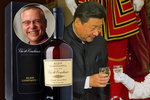 Státní večeře pro čínského prezidenta v Buckinghamském paláci: U královny pili Bakalovo víno!