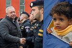 """Tvrdý postoj k uprchlíkům je správný? """"V Bavorsku nám děkují,"""" uvedl Chovanec"""