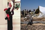 Blonďatá misska předpověděla svou smrt v letadle: Už se nevrátím, napsala