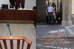 Soudkyně nařídila obžalovanému posprejovat podlahu: Pak ho osvobodila!