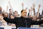 Zastavím EU, snaží se stárnoucí Berlusconi zaujmout voliče. Zatím marně