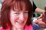 Překvapené ženě (47) u doktora řekli, že je těhotná: Za hodinu porodila!