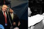 Pátrání po Zemanovi. Kritici hledají svědky, kteří ho viděli v listopadu 1989