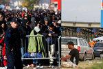 Začnou se migranti hromadit v Srbsku? Slovinci a Rakušané uzavírají hranice