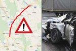 Smrťák mezi českými silnicemi? V počtu tragédií vede komunikace u Lanškrouna