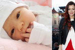 Dcera Jitky Boho Válkové: Malá Rosalie je krásná jako andílek