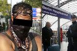 Horor v německém vlaku: Uprchlík napadl policisty a sápal se po zbrani