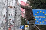 Mise mířená na migranty. Čeští policisté odjeli střežit slovinské hranice