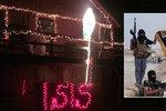 Santa močí na ISIS! V USA šokovala kontroverzní vánoční výzdoba