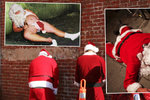 Šťastně a opilé! 10 nejhůře nadraných Santa Clausů