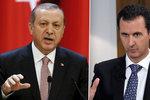 """""""Nemilosrdně jste zabili 400 tisíc lidí,"""" útočí Turecko na Bašára Asada"""