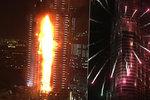 Fotograf chtěl v Dubaji zvěčnit ohňostroj, nakonec ale bojoval o holý život! Na laně visel z balkonu hořícího hotelu
