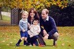 Princ William s manželkou Kate a dětmi