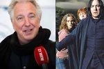 Zemřel Snape z Harryho Pottera: Alan Rickman (†69) podlehl rakovině!