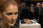 Zpěvačka Céline Dion pohřbila manžela: Několikrát propukla v neutichající pláč