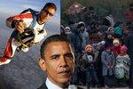 USA rozvrací uprchlíky Evropu, volá slavný parašutista. A cituje údajně Zemana