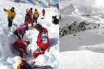 Češka strhla lavinu v Rakousku: Boty trčící ze sněhu jí zachránily život