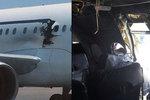 Hořící muž vysátý z letadla byl sebevražedný atentátník, bombu propašoval v kolečkovém křesle