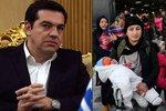 """Tsipras znovu """"otloukánkem"""": Po dluzích mu vyčítají otevřenost uprchlíkům"""
