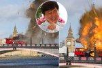 Londýn vyděšený k smrti: Exploze autobusu poblíž Big Benu! Naštěstí ji mají na svědomí jen filmaři...