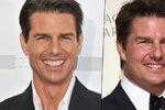 Co to má Tom Cruise s tváří? Mission: Botox-ible?