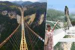 Máte rádi adrenalin? V Číně se budete moci doslova procházet v nebesích!