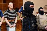 Usvědčil bratra z loupeže 77 milionů a vraždy: K soudu ho přivedli v neprůstřelné vestě