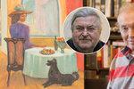 Ringo Čech o obrazu, který Gott maloval během boje s rakovinou: Je v něm řada šifer!