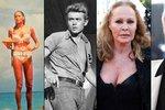 První bondgirl slaví 80! Krásná Ursula Andress měla pletky s Belmondem i Jamesem Deanem