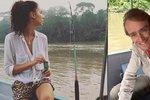 Eliška má ráda divočinu! Bučková s Vágnerem v Amazonii bez tuny make-upu a žehličky na vlasy