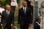 Castro po setkání s Obamou: Kuba chrání lidská práva