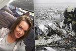 Poslední selfie před smrtí: Kráska Anna zemřela při pádu letadla