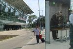Bratislava po teroru kontroluje na letišti lidi hned u vchodu. Praha to nezavede