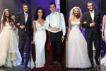 Zadané a zasnoubené missky oblékly svatební šaty: Ženichy ale vyměnily!