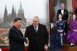 Zeman zval královské rodiny na oslavy Karla IV. Odmítli panovníci prezidenta?