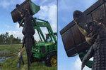 Lovci zabili obřího aligátora: Monstrum terorizovalo farmu