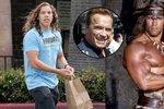 Nemanželský syn Arnolda Schwarzeneggera: Úplný Barbar Conan!