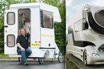 Nejzajímavější karavany z celého světa: Některý vyrobíte na koleni, jiné stojí jako vila!