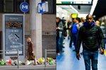 Vojenské hlídky a smutek: V Bruselu po útoku otevřeli stanici metra