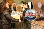 Blesk Praha pomáhá: Záchrannou stanici pro divoká zvířata v Jinonicích jsme zásobili novinami