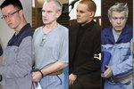 Nečesaný, Barták a tři další: Za mříže je poslali vrazi, zloději a násilníci