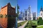 Nejkrásnější hrady a zámky Česka: Vysočina a Jihočeský kraj