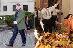 Otrávený Štaidl odešel z oslavy Bohdalové: Nebudu čekat frontu na chlebíčky!