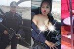 Sexy policistka se svlékla v autě: O práci přišla, teď je z ní striptérka!