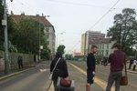 Do Prahy se vrátilo aprílové počasí: Nacucané mraky ve středu na chvíli vystřídá sluníčko