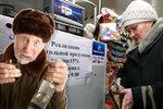 Rusové šetří: Vodky vypijí míň než Češi a upírají si maso