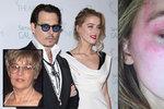 Proč Johnny Depp napadl manželku? Prý kvůli smrti své maminky!