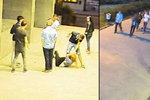 Dívku rval za vlasy, okradl ji a kopl do hlavy: Útočníka i přihlížející hledá policie